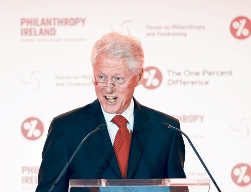 Former US president Bill Clinton warns that among the many downsides to Britain leaving the EU is that it would do immense harm to Northern Ireland.
