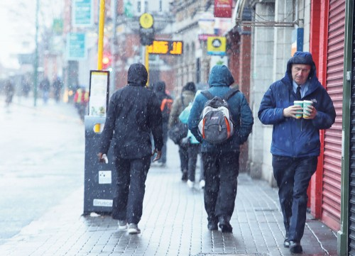 Wet winter fails to deter tourists to Ireland