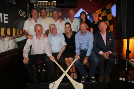 The Kilkenny legends with the board of the Kilkenny Supporters Club