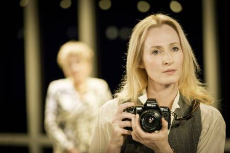 Genevieve O'Reilly (Kathryn) in Splendour at the Donmar Warehouse - photo by Johan Persson