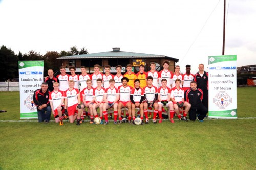 Minor Football Championship Final - Jason McGuire, Kieran Rice and Michael Maher