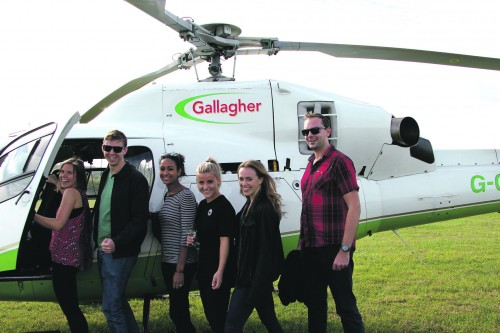 Gallagher Family Celebrates 25 More Years - Gallagher Helicopter
