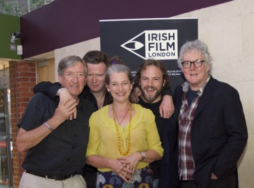 Kelly's heroes - Irish Film Festival LondonPhilip Jackson, Terry McMahon, Kerry Fox, Moe Dunford and Tim Palmer at the Patrick's Day UK Premiere at Tricycle Cinema