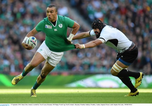 Record breaking weekend for Irish sport - Simon Zebo