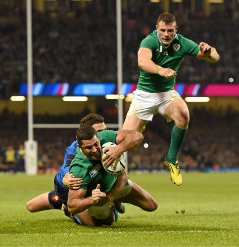 Bring on the pumas - Rob Kearney