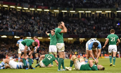 Argentina dash Irish RWC hopes