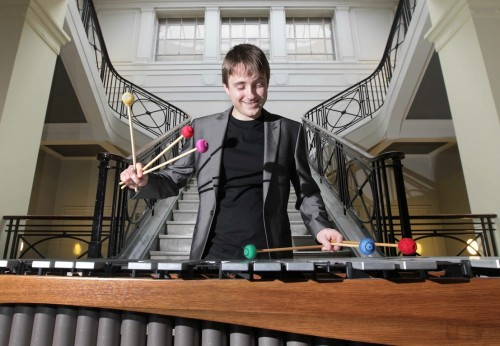 Alex at the Forge: The National Concert Hall bestows its 'Rising Star 2015' title on gifted young musician, 28-year-old percussionist Alex Petcu Colan from Cork City