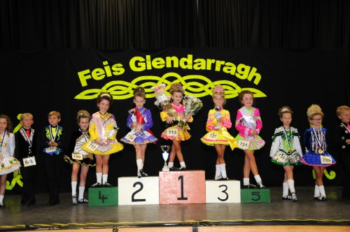 Feis Glendarragh, Nottingham Leah Staunton (Brooks Academy) won the U7 mixed championship.