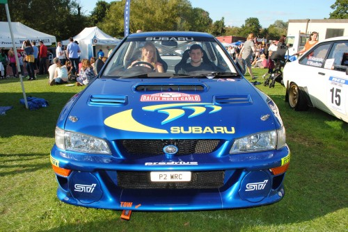 Clare adventures for London Irish Motor Club - 1997 Monte Carlo Subaru