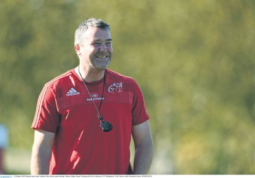 European Rugby back on the agenda - Munster head coach Anthony Foley