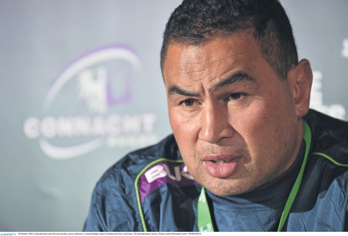European Rugby back on the agenda - Connacht head coach Pat Lam