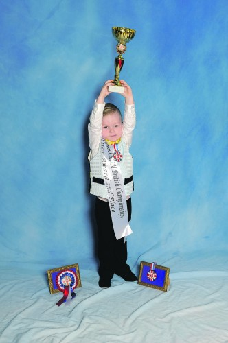 Just three years old, Bayley Needham (O'Dwyer Acad) was delighted with his second place. John Egan explores how one Irish dancing championship links the Isle of Man, Ireland and Coventry