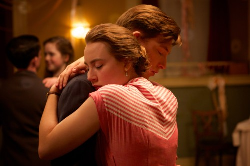 Saturday November 21 Brooklyn Saoirse Ronan plays young Irish emigrant Eilis Lacey who departs Ireland for New York, where the initial shackles of homesickness quickly diminish when she finds love. But soon, Eilis must choose between two countries and the lives that exist within. 8:15pm, Tricycle Theatre, NW6 7JR