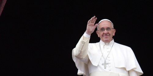 Pope urges more acceptance for LGBTI community