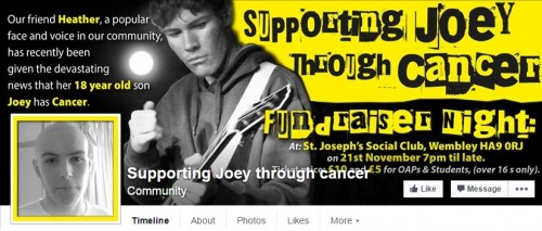 Supporting Joey Through Cancer