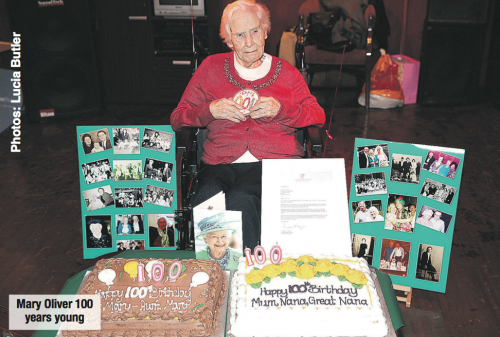 Mayo woman's 100th birthday celebrations - Mary Oliver (nee Griffin)