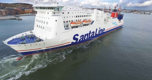 Ho Ho Go with Santa Line this Christmas - Stena Line