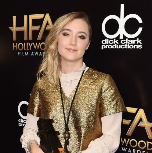 Saoirse Ronan honoured at Hollywood Film Awards