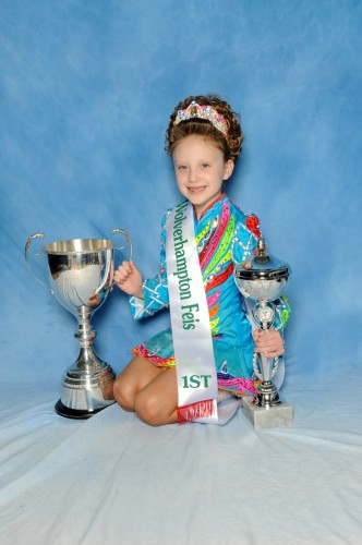 Tilly Brown, Trainor Academy, won the U7 mixed championship.