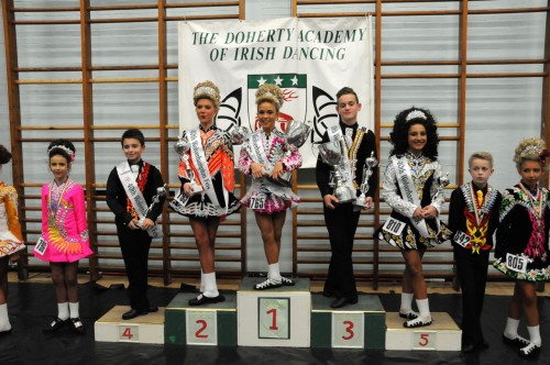 Alliyah O'Hare, Scanlon Academy, won the U12 mixed championship.