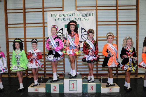 Niamh Power, Loughran School, won the U12 prelim championship.