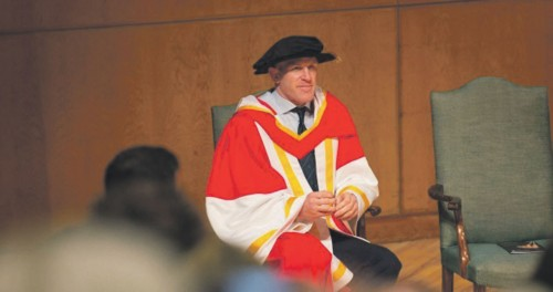 O'Connell honoured with Limerick doctorate