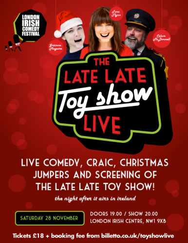 The Late Late Toy Show LIVE!