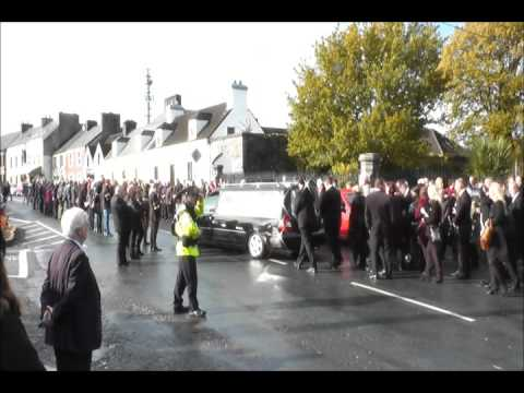 Watch: Footage of Christy Kissane funeral cortege