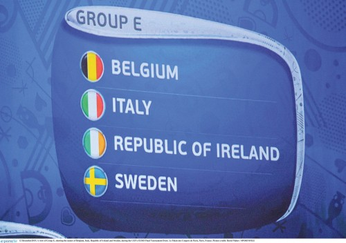 Ireland drawn in Euro's 'Group of Death'