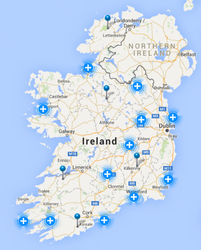 ESB outages as of 9am this morning. UK braces as river banks burst in Ireland