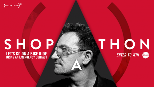 Ride a bike with Bono for RED