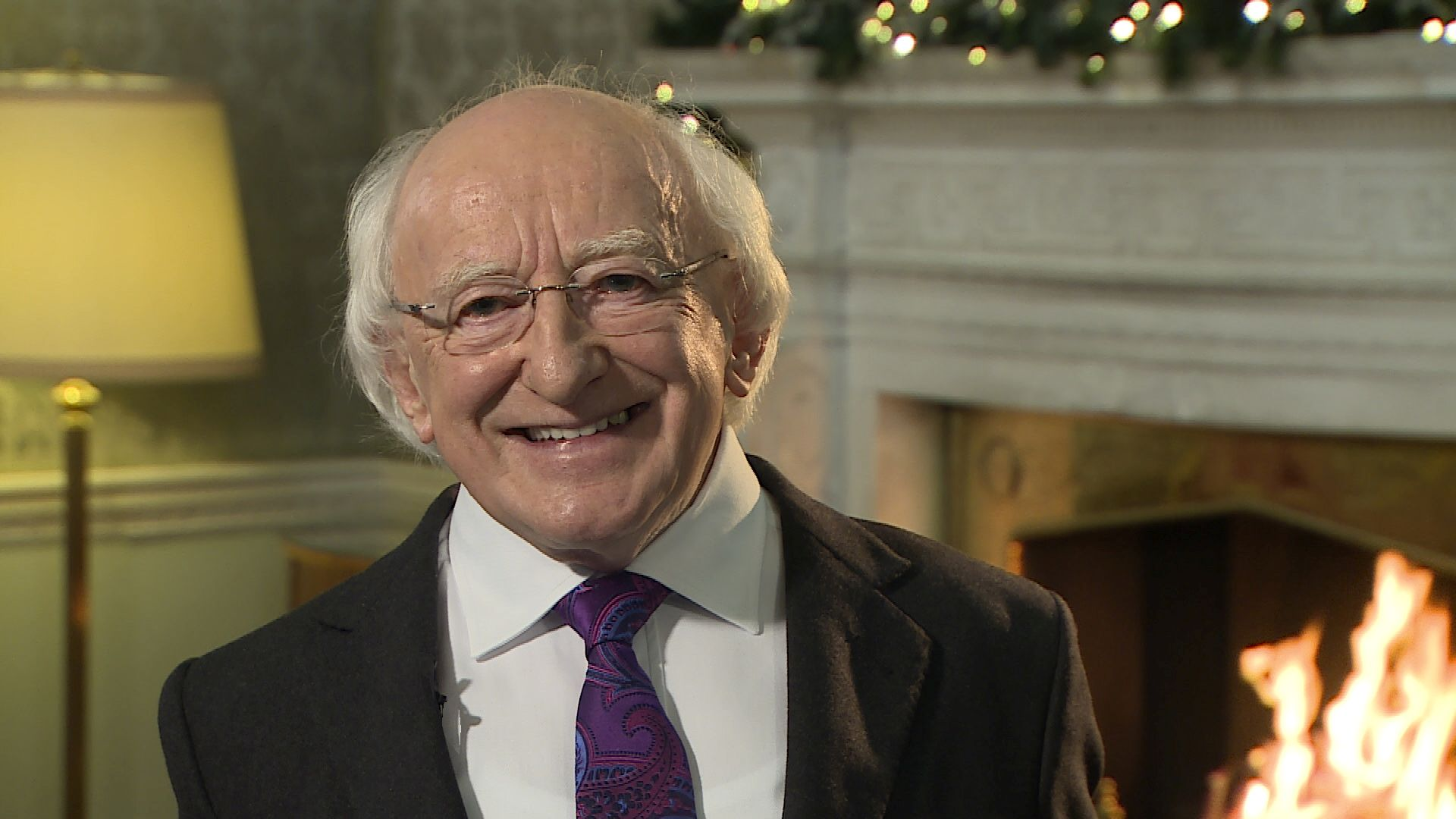 A Christmas and New Year's Message from President Michael D. Higgins