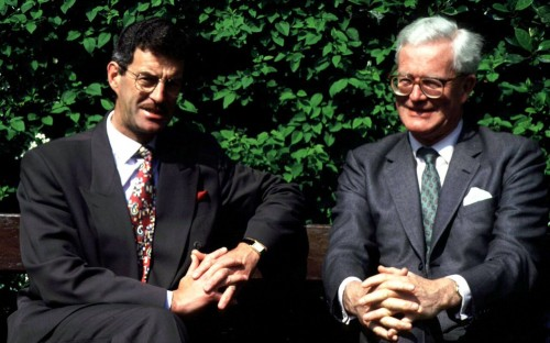 Douglas Hurd Hung over Hurd: State papers reveal