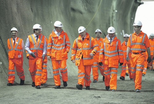 Crossrail enters 2016 on schedule with 42 kilometres of tunnels