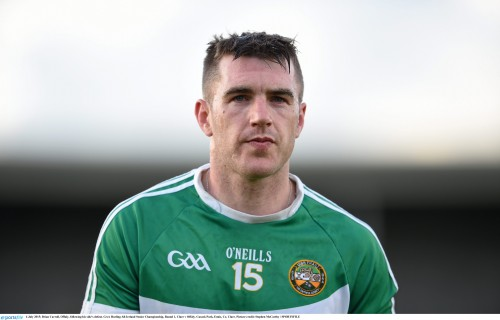 Brian Carroll- Offaly bid farewell to veteran Carroll
