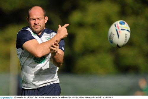 Joe Schmidt announces team for Six Nations opener against Wales
