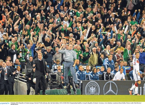 Ireland eyes UK Euro Base - Martin O'Neill