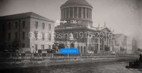 National Library of Ireland announces partnership with Google's 1916 virtual experience