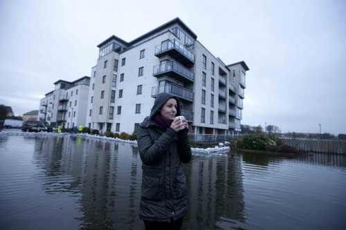 Photos: Counting the cost of Storm Frank