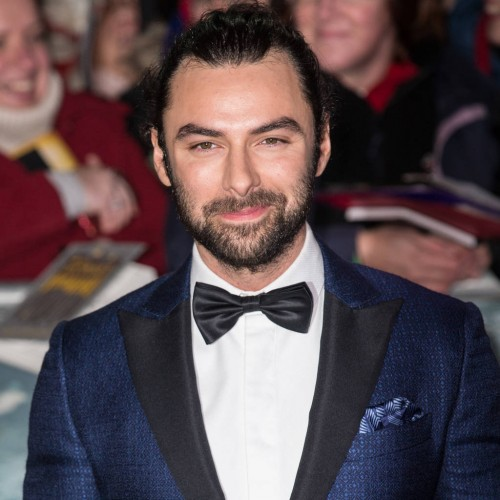 Aidan Turner and David Tennant to compete for National Television Award - Aidan Turner
