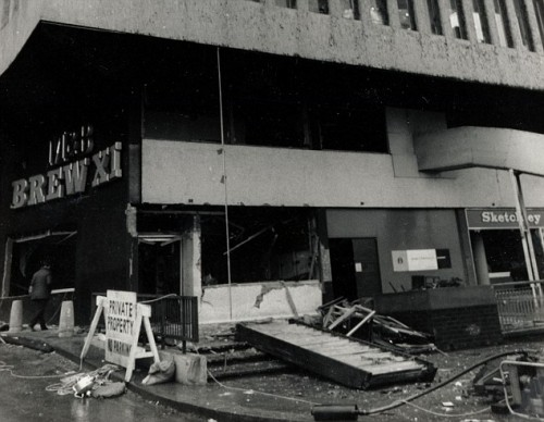 The British Army has been called in to search for fresh evidence relating to the 1974 Birmingham pub bombings. - New pub bombings probe