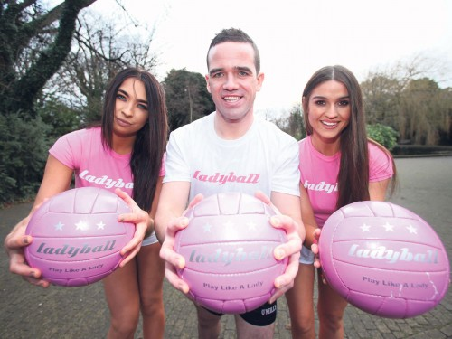 'Sexist' Ladyball campaign a publicity stunt