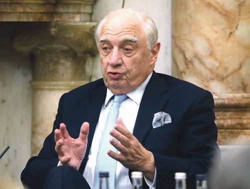 'We Irish should define our identity by values, we've had enough tribalism on our island' - Peter Sutherland