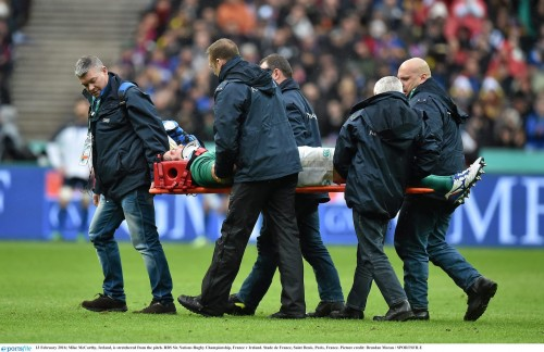 Triple blow for Ireland as McCarthy, Kearney and O'Brien ruled out of 6 Nations