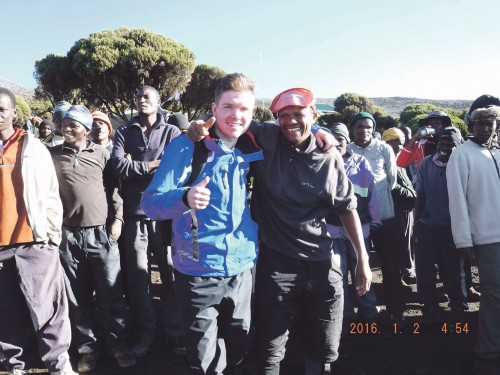 Mountain trek in aid of cardio checks for kids
