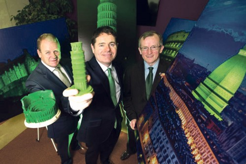 Tourism Ireland has announced that its Global Greening initiative (#GlobalGreening) to turn global landmarks green for St Patrick's Day