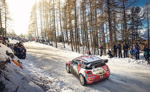 Four Irish occupy six possible Citroen seats at Rally Sweden