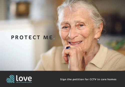 Protect elderly in care with CCTV