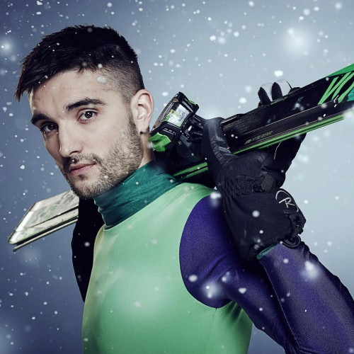 From singing to the slopes: Tom Parker replaces Tina Hobley on The Jump