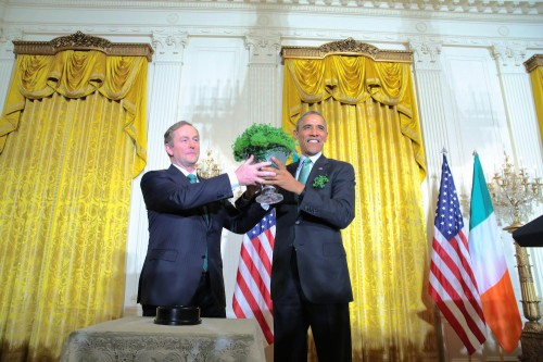 Caretaker Taoiseach Enda Kenny is cutting short his St Patrick's Day trip to Washington.